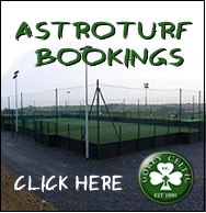 Astroturf booking